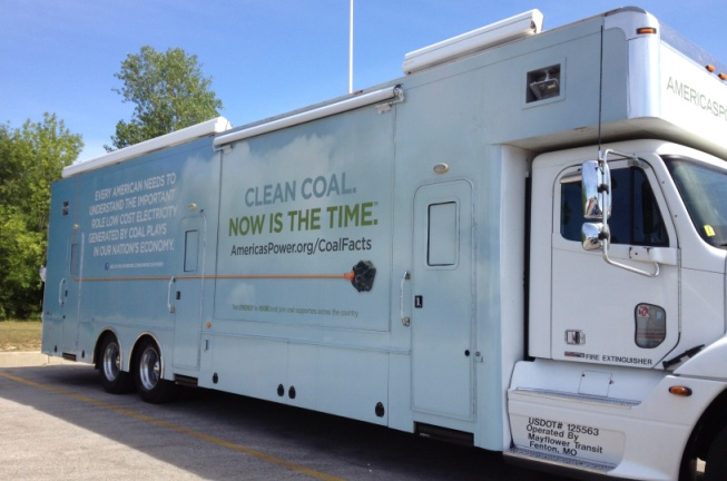 Clean Coal Marketing Vehicle